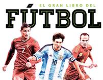 """Portada 1ª edición de """"El Gran Libro del Fútbol"""""""