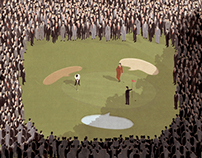 Want a better network? Avoid large crowds