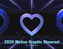 2020 Motion Graphic Showreel