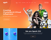 Redesign Spark CGI & Corporate Website