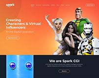 Redesign Spark CGI & Corporate Website