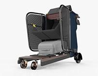 Sleep Nomad- Airport sleeping cart
