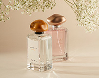 Zara Perfume - Translucent Object Project