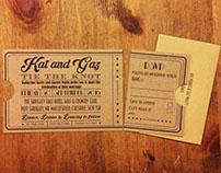 Wedding invitations - movie style!