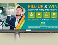 Gas Station Billboard Template