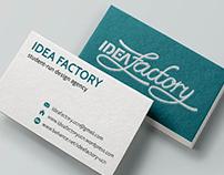 Idea Factory Visual Identity