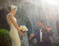 Megan and Aydin's wedding