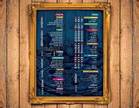 menu , design