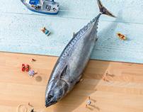 FISH ASHORE TO PIXEL BEACH ( ONE )