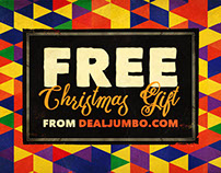 Free Christmas Gift from Dealjumbo