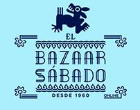 El Bazaar Sábado branding & logo Update