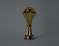 The African Cup Trophy - 3D Model