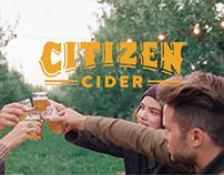 Citizen Cider rebrand