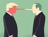 Le Nouvel Obs - Trump & Putin's politics
