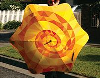 """Make Your Own Sunshine"" Umbrellas"