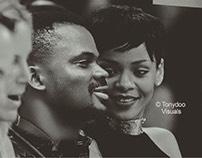 Nigerian Photographer-Tonydoo Dating Rihanna [PHOTOS]