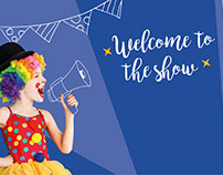 Welcome to the Show. Ilustración y diseño rótulo