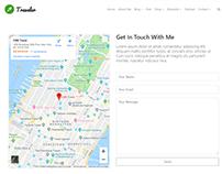 Contact Alt Page - Traveler WordPress Theme