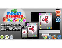HTML5 Game: Fidget Spinner Revolution