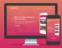 Amplify Marketing Website