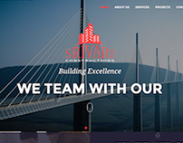 Web Design for Srivari Constructions