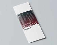 Vertical / Bifold Brochure Mock-Up / 3D Visualization