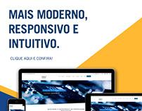 Campanha interna de lançamento do site institucional