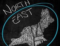 Chalkboard Maps