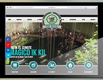 Cenote Ik Kil Web Site Design