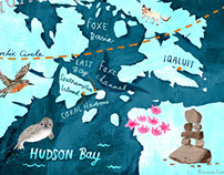 Wellesley mag map illustration