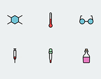 Science Icon Set Freebie