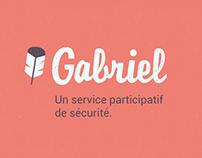 Gabriel - Sécurité domestique participative, IoT webapp