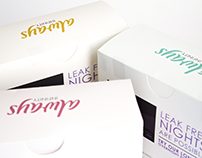 P + G - Always Brand Campaign and Package Redesign