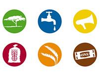 Sektoren-Icons | Welthungerhilfe