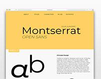 Montserrat Website