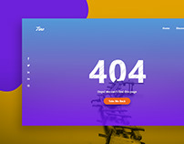 404 Pages, #DailyUi #008