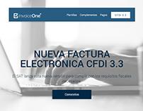 InvoiceOne - Aviso CFDI 3.3 Email Template