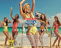 CERVEZA AGUILA // Chicas Aguila
