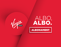 Virgin mobile 360* campaign ALBO/ ALBO. ALBONAMENT