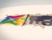Watercolor Ink Logo Reveal After Effects Template