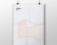 Architectural poster #27. CINiBA in Katowice.
