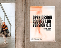 OPEN DESIGN COURSE LAB VERSION 0.3