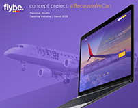 Flybe UX Concept #BecauseWeCan