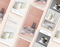 Tableware for home | Landing page