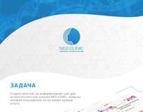 Создание сайта для Клиники Neo Clinic