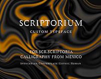 Scriptorium Typeface