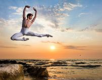Dancer Luigi Crispino -Sunset