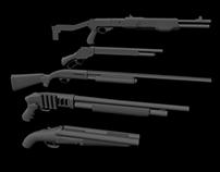 Shotguns - A Study (WIP)
