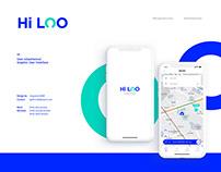 Hi LOO-toilet application ui/ux