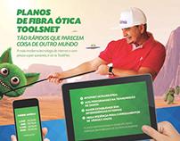 Milha Telecom - Campanha Novos Planos Fibra Ótica